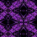 Purple Crosses Connecting by Debra Lynch