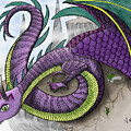 Purple Dragon by Aimee N Youngs