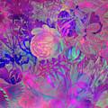 Purple Flowers by Justyna JBJart