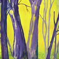 Purple Forest by Martha Zausmer