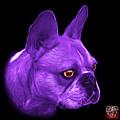 Purple French Bulldog Pop Art - 0755 Bb by James Ahn
