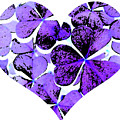 Purple Heart Art by Kami McKeon