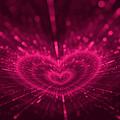 Purple Heart Valentine's Day by Anna Bliokh