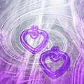 Purple Hearts by Linda Sannuti
