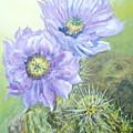 Purple Hedgehog by G Kay Cummings