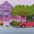 Purple House, Alameda by Nancy Roberts