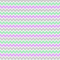 Purple Lavender Mint Green And Grey Gray Chevron by Laura DeCamp