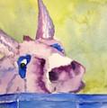 Purple Mule by Marie Brumbach