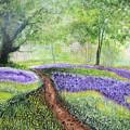 Purple Meadow by Maris Sherwood