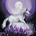 Purple Moon by Melissa Young