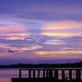 Purple Morning by D Hackett