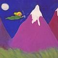 Purple Mountains Majesty by Christine Crosby