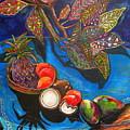 Purple Pineapple by Patti Schermerhorn