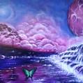 Purple Planet by Lyndelle Hinkle