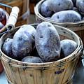 Purple Potatoes by Teri Virbickis