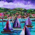 Purple Skies Over St. John by Patti Schermerhorn