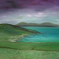 Purple Sky Over Donegal by Maurice Noble