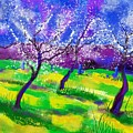 Purple Spring by Heidi Creed