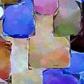 Purple Squares by Rafael Salazar