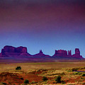 Purple Sunset In Monument Valley by Lisa Lemmons-Powers
