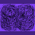 Purple Swirls by Joe Roache