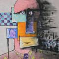 Purple Tie by Teddy Campagna