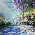 Purple Tree By The Lake by Kume Bryant