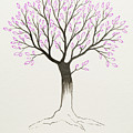 Purple Tree by Stefanie Forck