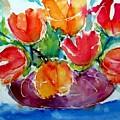 Purple Vase by Lia  Marsman
