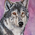 Purple Wolf by Lucy Deane