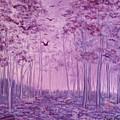 Purple Woods by Faye Anastasopoulou