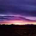 Puruple Sunset by David Stevens