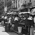 Pushcart Market, 1939 by Granger