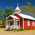 Pu'uanahulu Baptist Church - Pu'uanahulu by Steven Rice