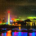 Pyongyang Night Scene by Leonardo Digenio