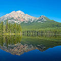 Pyramid Island In The Pyramid Lake by Panoramic Images