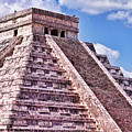 Pyramid Of Kukulcan At Chichen Itza by Tatiana Travelways