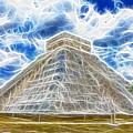 Pyramid Of The Maya  by Douglas Barnard