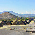 Pyramid Of The Sun And Avenue Of The Dead by Chon Kit Leong
