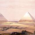 Pyramids Of Geezeh - Egypt by Munir Alawi