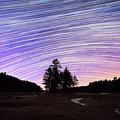 Quabbin Reservoir Star Trails by Michael Ver Sprill