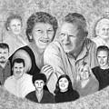 Quade Family Portrait  by Peter Piatt
