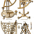 Quadrants And Sextant, 1790 by Wellcome Images