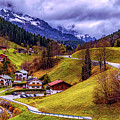 Quaint Bavarian Village by Pixabay