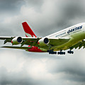 Qantas A380 Airbus April 2016 by Rospotte Photography