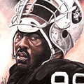 Quarterback Killer - Warren Sapp by Kenneth Kelsoe
