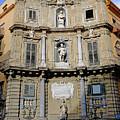 Quattro Canti In Palermo Sicily by Richard Rosenshein
