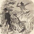 Que Nous Sommes B?tes D'avoir Une Peur Pareille... by Honor? Daumier