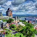 Quebec City Overlook by Dave Thompsen
