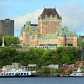 Quebec City Waterfront 6324 by Jack Schultz